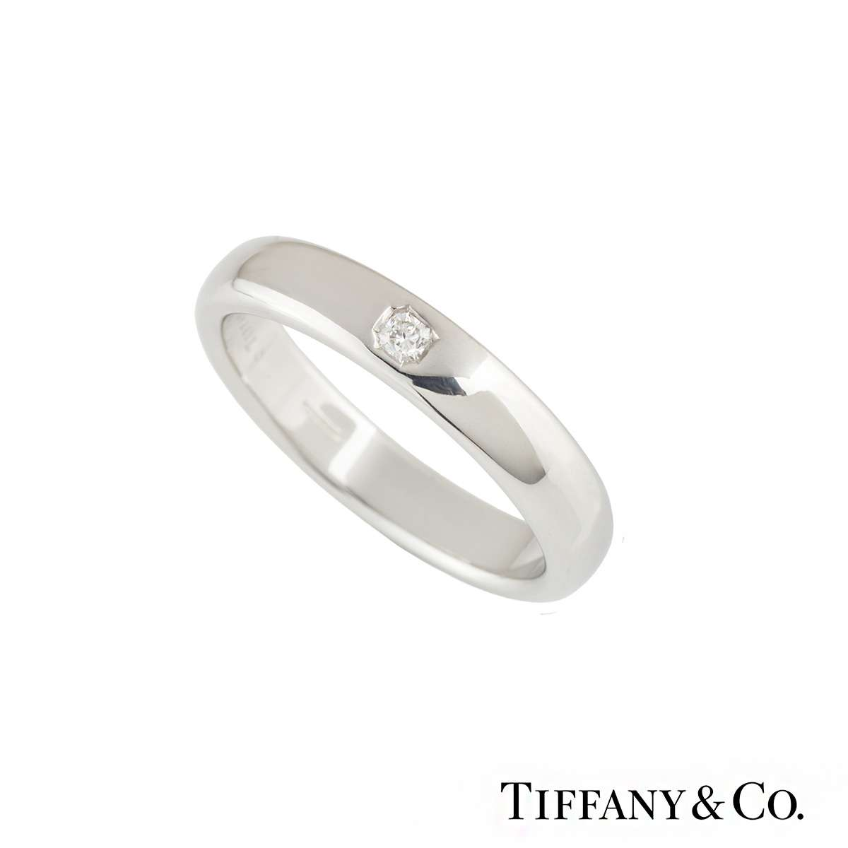 c04ae1ff2 Tiffany & Co. Lucida Diamond Wedding Band in Platinum